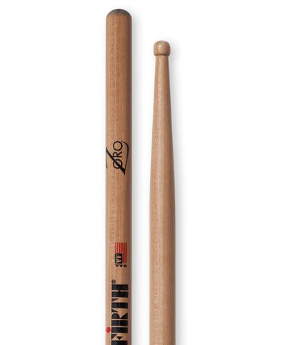 Vic Firth ZS-VICFIRTH 1 Pair of Zoro Signature Series Drumsticks with Barrel Tip ZS-VICFIRTH