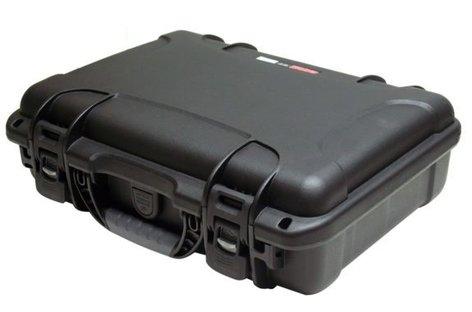 "Gator Cases GU-1309-03-WPDF  Black Waterproof Utility Case with Diced Foam Interior, 13.2""x9.2""x3.8"" GU-1309-03-WPDF"