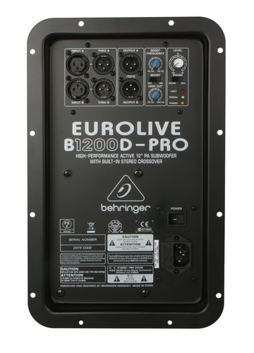 Behringer A09-A9M02-03000 Amp Assembly for B1200D-PRO A09-A9M02-03000