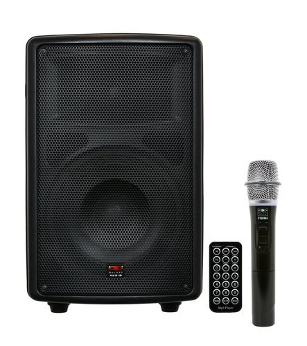 """Galaxy Audio TQ8-20H0N Battery-Powered Portable Sound System with 8"""" Speaker & Wireless Handheld Microphone, 517.550MHz TQ8-20H0N"""