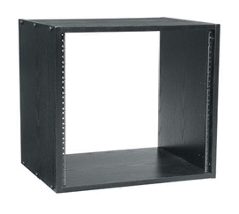 """Middle Atlantic Products BRK8-22 8 RU, 22"""" D Rack Black Laminate Rack BRK8-22"""