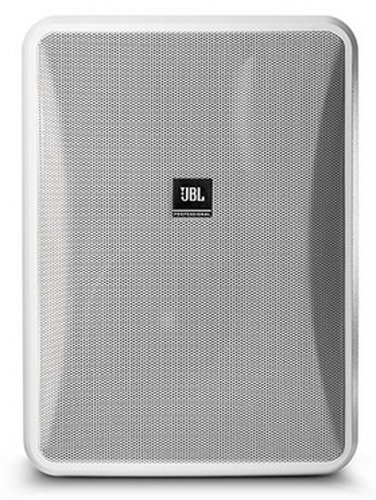 JBL CONTROL 25-1 Compact Indoor/Outdoor, Background/Foreground Speaker, White, Sold In Pairs CONTROL-25-1-WHT