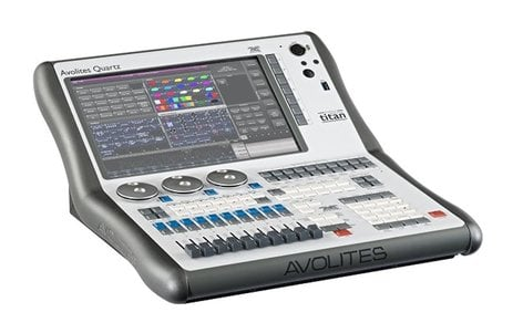 Avolites Quartz Lighting Control Console With 16 Universes And 10 Playback Faders
