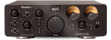 SPL Sound Performance Lab Phonitor 2 120V Rail Headphone Monitoring Amplifier  PHONITOR-2