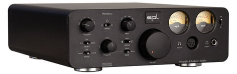 SPL Sound Performance Lab Phonitor x Headphone Amplifier and Preamplifier + DAC PHONITOR-X+DAC