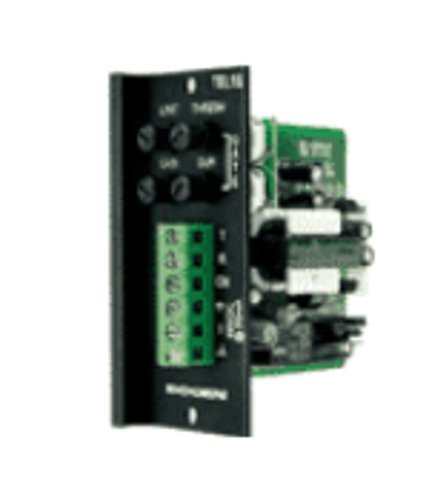 Bogen Communications TEL1S Loop-Start/Ground-Start Trunk/Paging Interface, Screw Terminal TEL1S