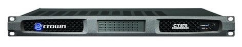 Crown CT875 [USED ITEM] ComTech DriveCore 75W @ 8 Ohms 8-Channel Power Amp CT875-RST-01