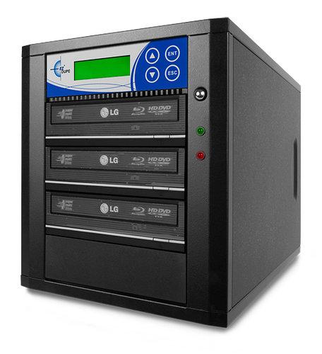 EZ Dupe BR03PIB Blu-Ray 3 Copy BD/DVD/CD 12x Duplicator BR03PIB