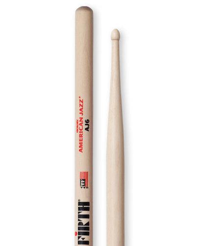 Vic Firth American Jazz 6 Pair of 7A Drumsticks AJ6