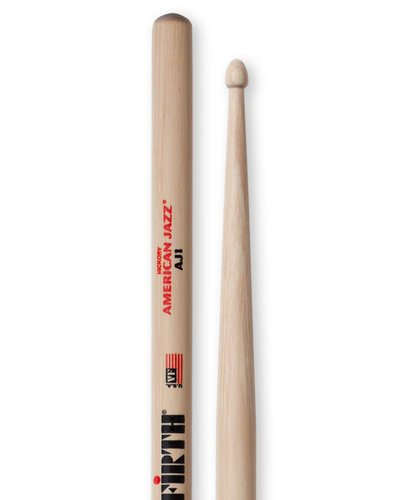 Vic Firth American Jazz 1 Pair of 5B Drumsticks AJ1