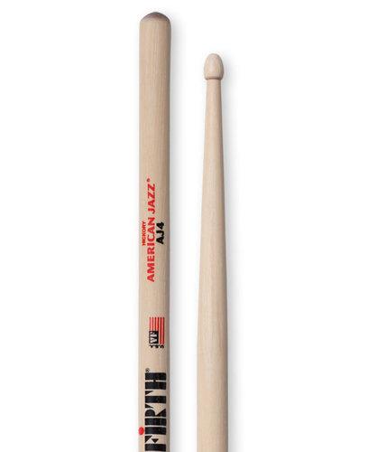 Vic Firth American Jazz 4 Pair of Jazz Drumsticks AJ4