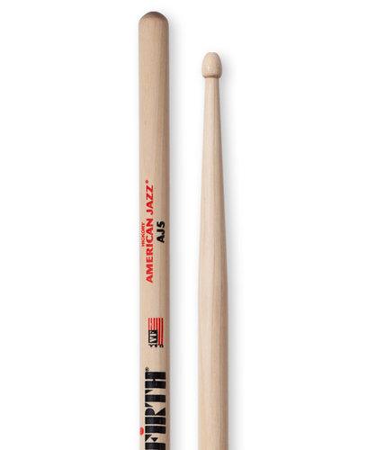 Vic Firth American Jazz 5 Pair of Jazz Drumsticks AJ5