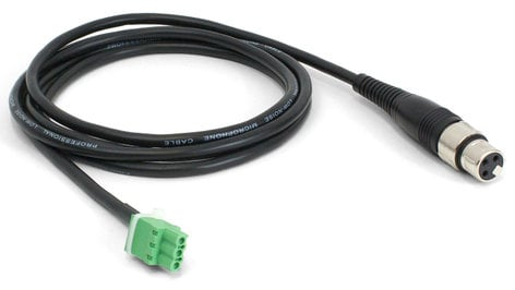 Williams Sound WCA 051 6 ft XLR Female to 3-Pin Phoenix Contact Male Cable WCA051