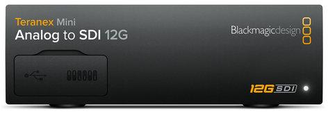 Blackmagic Design Teranex Mini - Analog to SDI 12G [RESTOCK ITEM] Analog Video to 12G-SDI Mini Converter CONVNTRM/BB/A-RST-01