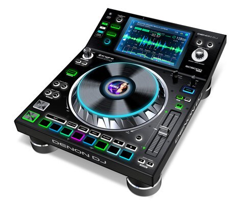 Denon SC5000-PRIME SC5000 Prime Professional DJ Performance Player with 7 Inch Multi-Touch Display SC5000-PRIME