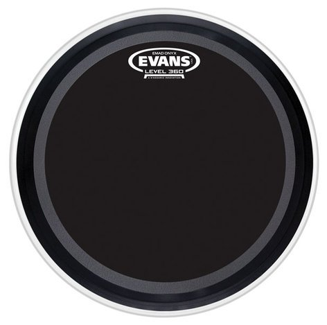 evans bd22emadonx 22 emad onyx batter drum head full compass systems. Black Bedroom Furniture Sets. Home Design Ideas