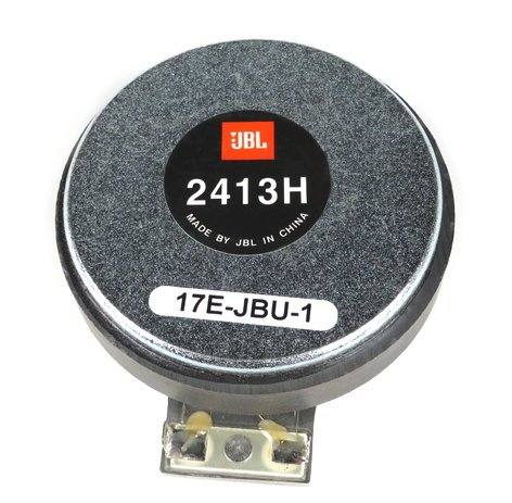 JBL 337663-001 Tweeter for Control 29AV 337663-001