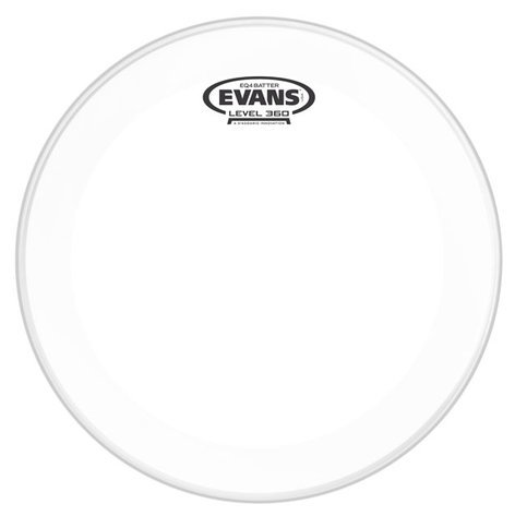 "Evans EQ4 22"" Clear Batter Bass Drum Head BD22GB4"