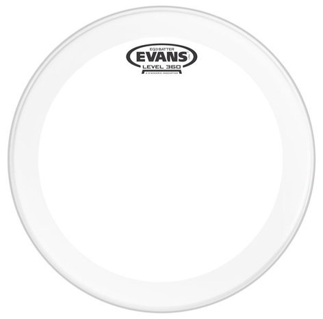 "Evans BD20GB3 20"" EQ3 Clear Bass Batter Drum Head BD20GB3"