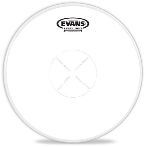 "Evans B14G1D 14"" Power Center Coated Snare Drum Head B14G1D"
