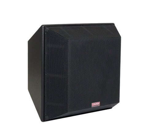 EAW QX594I-WHITE QX594i Three-Way Trapezoidal Enclosure Speaker, White QX594I-WHITE