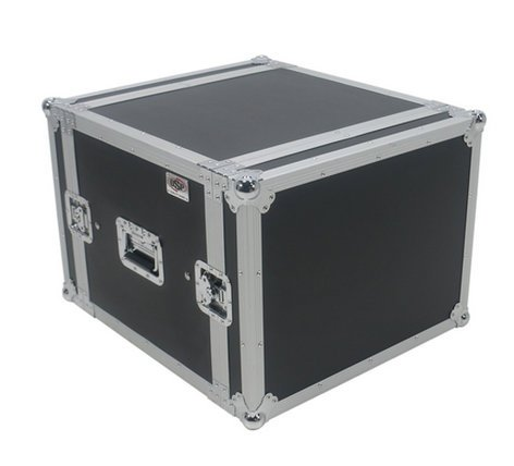 Elite Core Audio SC8U-20  8 Space ATA Shock Amp Rack  SC8U-20