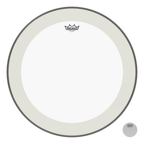 "Remo P4-1322-C2 22"" Powerstroke 4 Clear Bass Drum Head P4-1322-C2"