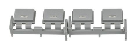 Yamaha WA835301  Bank of 4 Grey Buttons for M7CL WA835301