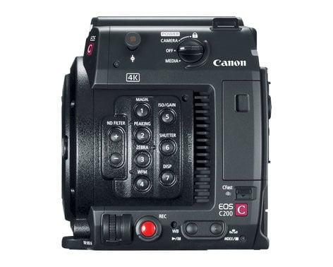 Canon EOS-C200B 8.85MP 4K RAW Digital Cinema Production Camera Body EOS-C200B