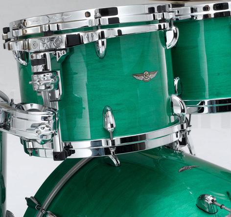 Tama TW52ZSMGN 5-Piece STAR Drum Walnut Shell Pack in Mint Green Mist Finish TW52ZSMGN