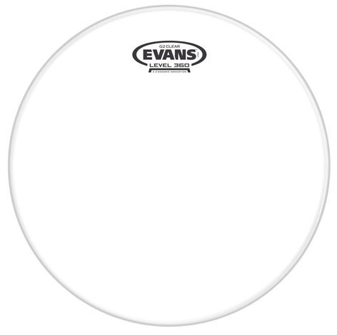 """Evans S13H20 13"""" 200 Clear Snare Side Drum Head S13H20"""