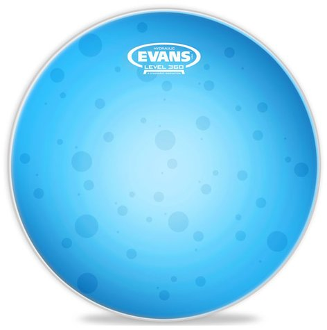 "Evans TT14HB 14"" Hydraulic Blue Snare Drum Head TT14HB"