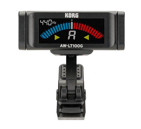 Korg AW-LT100G Clip-On Tuner for Guitar AWLT100G