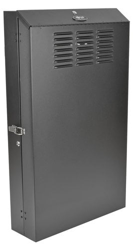 Tripp Lite SRWF6U36  SmartRack 6RU Low-Profile Vertical-Mount Server-Depth Wall-Mount Rack Enclosure Cabinet SRWF6U36