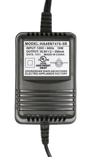 Mackie 0028090-00 Power Adapter for 402, 802, VLZ 3 and 4 0028090-00