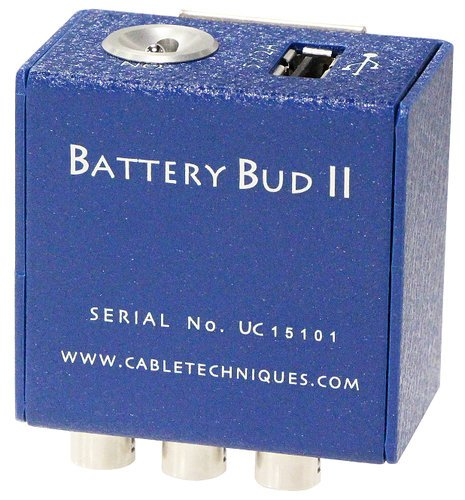 Cable Techniques Battery Bud II-USB Modular DC Distribution Box with Hirose 4-Pin Outputs BB-003