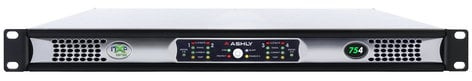 Ashly nXp 754 4 x 75 Watts @ 2 Ohms Network Power Amp with Protea DSP NXP754