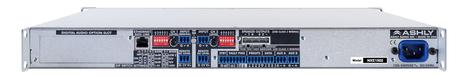 Ashly nXe1502 2 x 150 Watts @ 2 Ohms Network Power Amplifier NXE1502