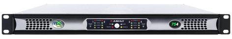 Ashly nXe754 4 x 75 Watts @ 2 Ohms Network Power Amplifier NXE754