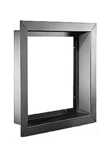 "Whirlwind WFF8x1 9"" x 9"" x 1"" Recessed Mount Wall Frame, Fits 8"" x 8"" x 4"" Recessed Electrical Box WFF8X1"