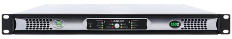 Ashly nXp1502 2 x 150 Watts @ 2 Ohms Network Power Amp with Protea DSP NXP1502