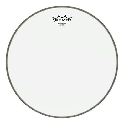"Remo BA-0308-00 8"" Clear Ambassador Batter Drum Head BA-0308-00"