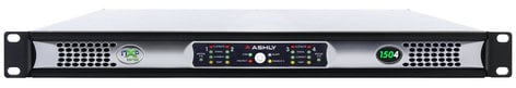 Ashly nXp 1504 4 x 150 Watts @ 2 Ohms Network Power Amp with Protea DSP NXP1504