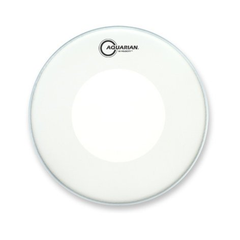 "Aquarian Drumheads TCPD14 14"" Coated Snare Drum Head with Power Dot TCPD14"