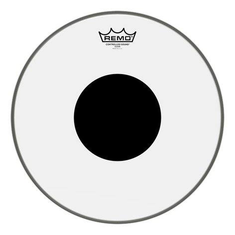 """Remo CS-0312-10 12"""" Clear Controlled Sound Batter Drum Head CS0312-10"""
