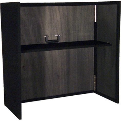 "Grundorf Corp ML-F3436B 34""x36"" DJ Facade in Black with Shelf ML-F3436B"