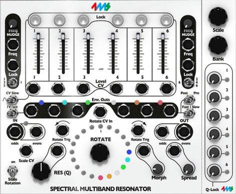 Softube 4ms SMR [DOWNLOAD] Spectral Multiband Resonator for Modular 4MS-SMR
