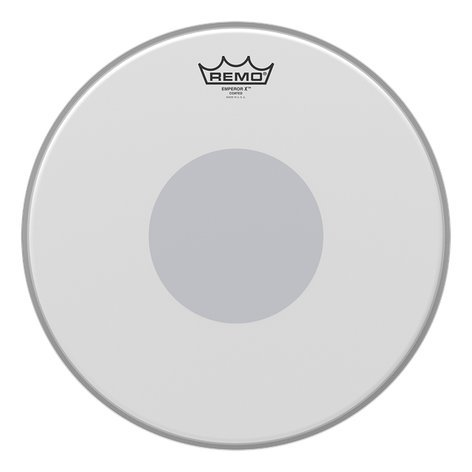 """Remo BX0113-10 13"""" Emperor X Snare Batter Drum Head with Black Dot on Bottom BX0113-10"""