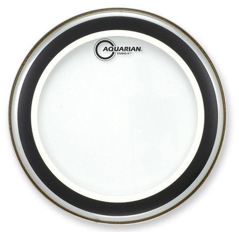 """Aquarian Drumheads SX12 12"""" Studio-X Clear Drum Head SX12"""