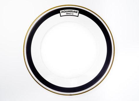 "Aquarian Drumheads IMPII-22 22"" Impact II Clear Bass Drum Head IMPII-22-AQUARIAN"